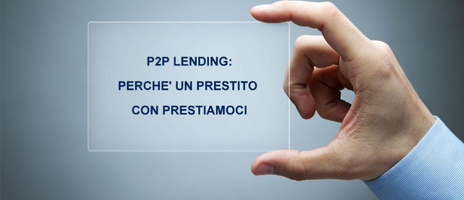P2P Lending: perchè richiedere un prestito personale